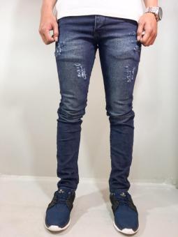 Pencarian Termurah celana jeans skinny slim fit Ripped /Hitam (black)/Celana sobek