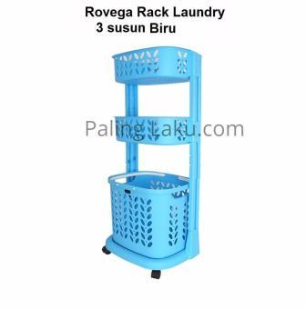 Periksa Peringkat Rovega Laundry Rack & Basket 3 Susun RLB-300/ keranjang Baju kotor/ rak serbaguna pencari harga - Hanya Rp156.984