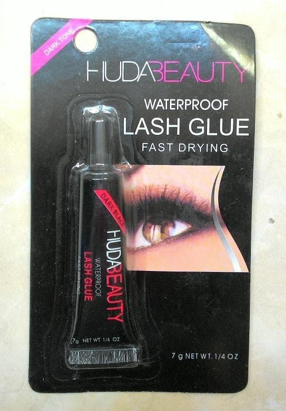 Lem Bulu Mata Palsu Cepat Kering Huda Beauty Eyelash Glue WaterProof Fast Drying 1 Pcs