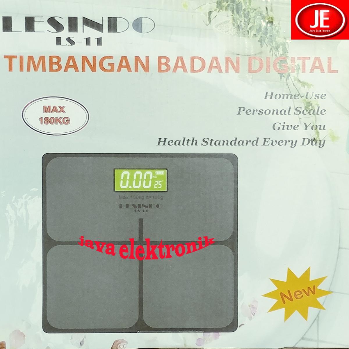 Romusha Timbangan Badan Digital Personal Scale Max 180kg Daftar Diameter Jumbo 33cm Lesindo Hitam Garansi Resmi