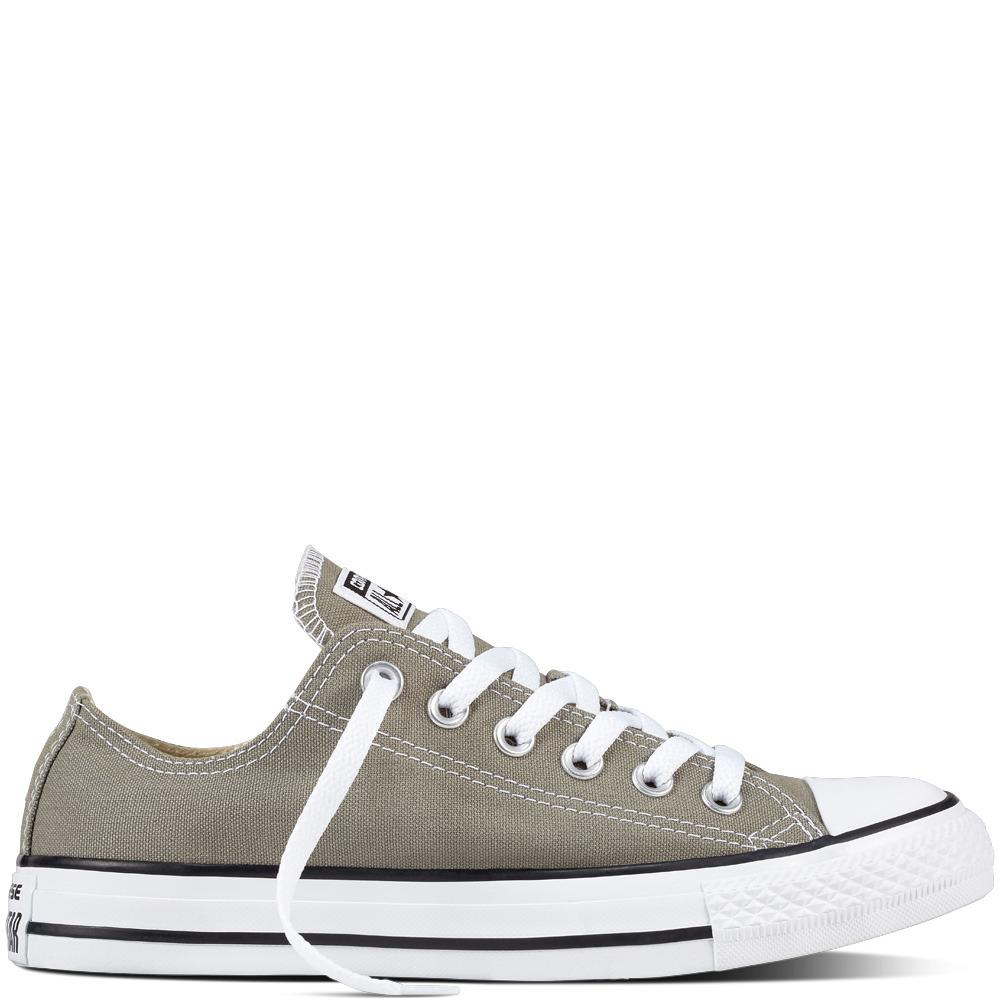 Converse Chuck Taylor All Star Classic Colour Low Top Sepatu Sneakers - abu abu