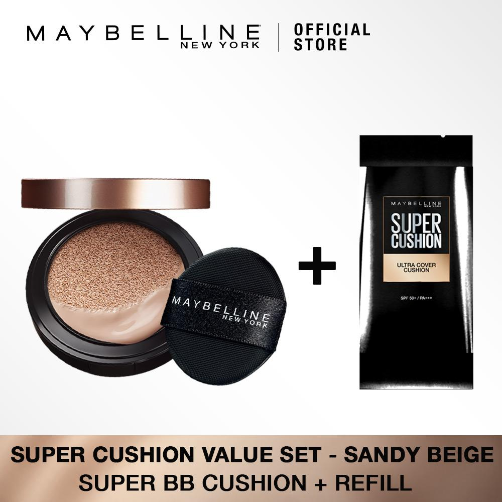 Maybelline Super Cushion Value Set : Sandy Beige [Bundle] by Maybelline