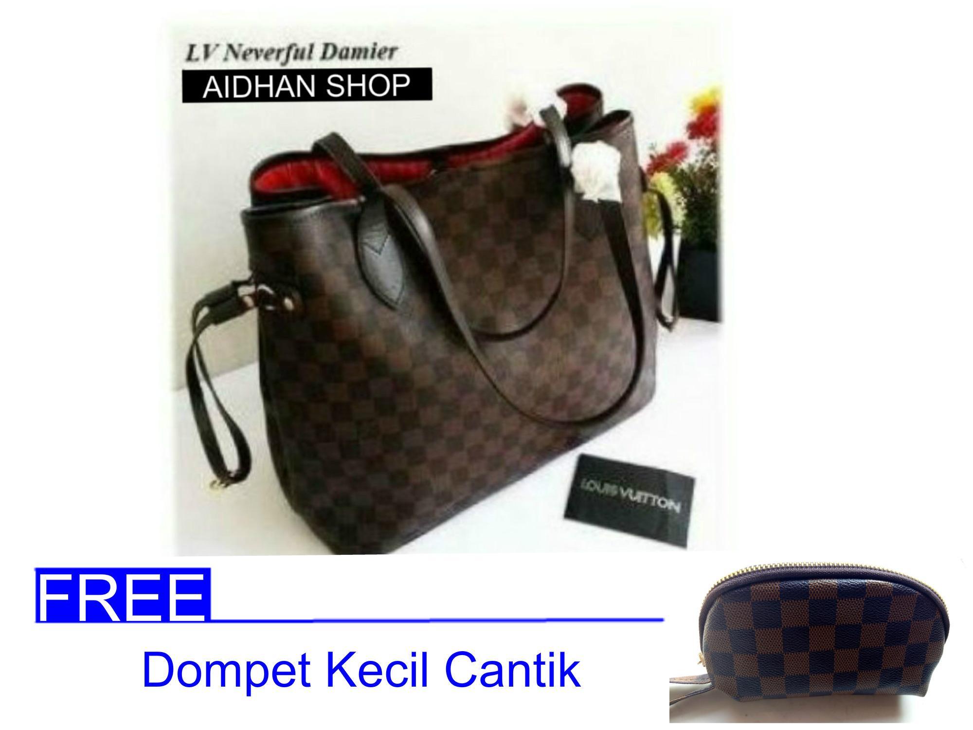 Jual Tas Top Handle Bag Terlengkap Wanita Hand Lv Alma Mini Cantik Neverfull Free Dompet Uk 33x15x28 Monogram Damier