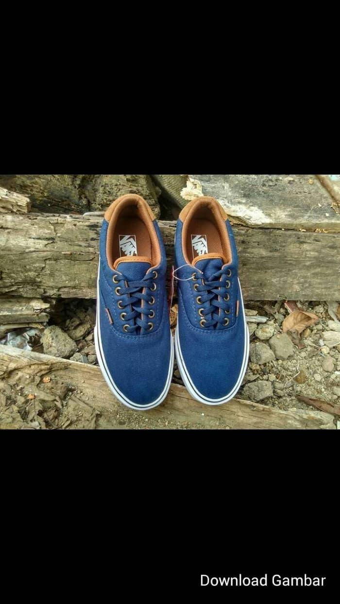 BEST SELLER!!! OBRAL!!! sepatu vans california blue navy - pjDxMB