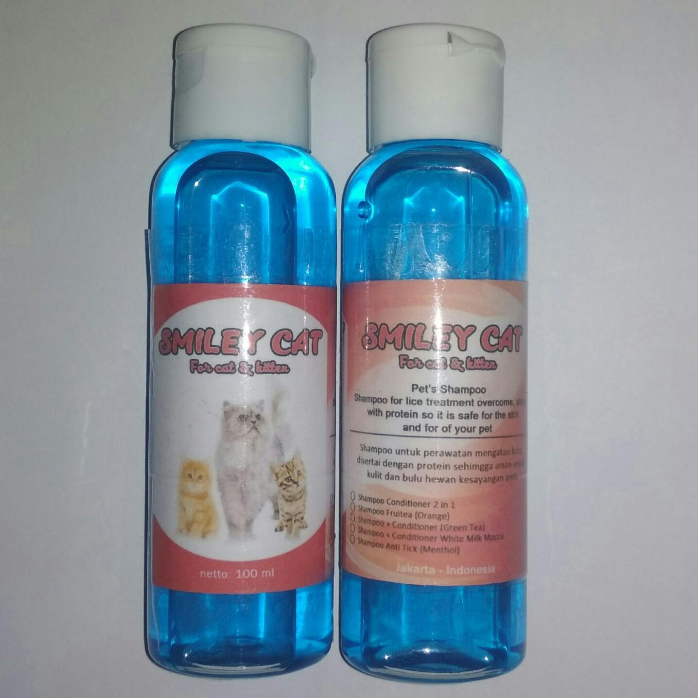 Jual Sampo Kucing Terbaik Shampo Anti Kutu Lice Dan Kitten Natural Jamur