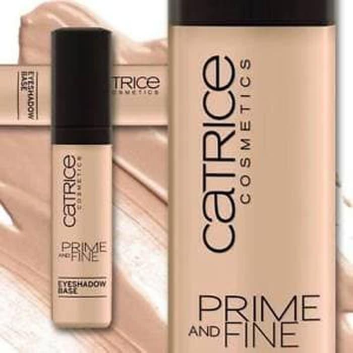 CATRICE Prime And Fine Eyeshadow Base 010 - digunakan sebelum eyeshadow - eye primer original - terlaris