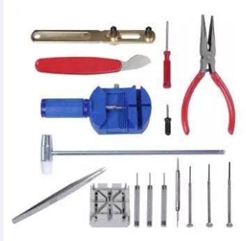 Alat Service Jam Tangan Tool / Watch Tools Kit Full Set Pemotong Potong Rantai