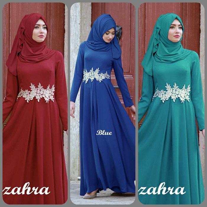 Sis Azzahra Hijab Maxi+Pasmina Jersey  - Navy