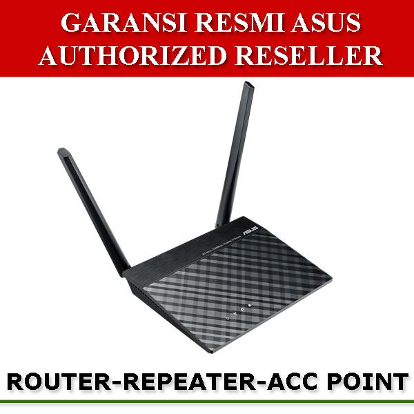 Asus RT-N12+ Wireless N300 Router Access Point Range Extender - Hitam