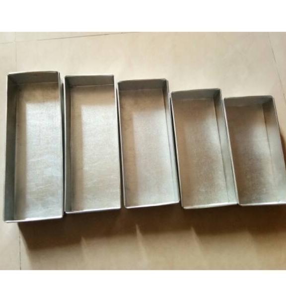 Cetakan Loyang Brownies 1 Set / 5 Ukuran Berbeda By Berkah Loyang.