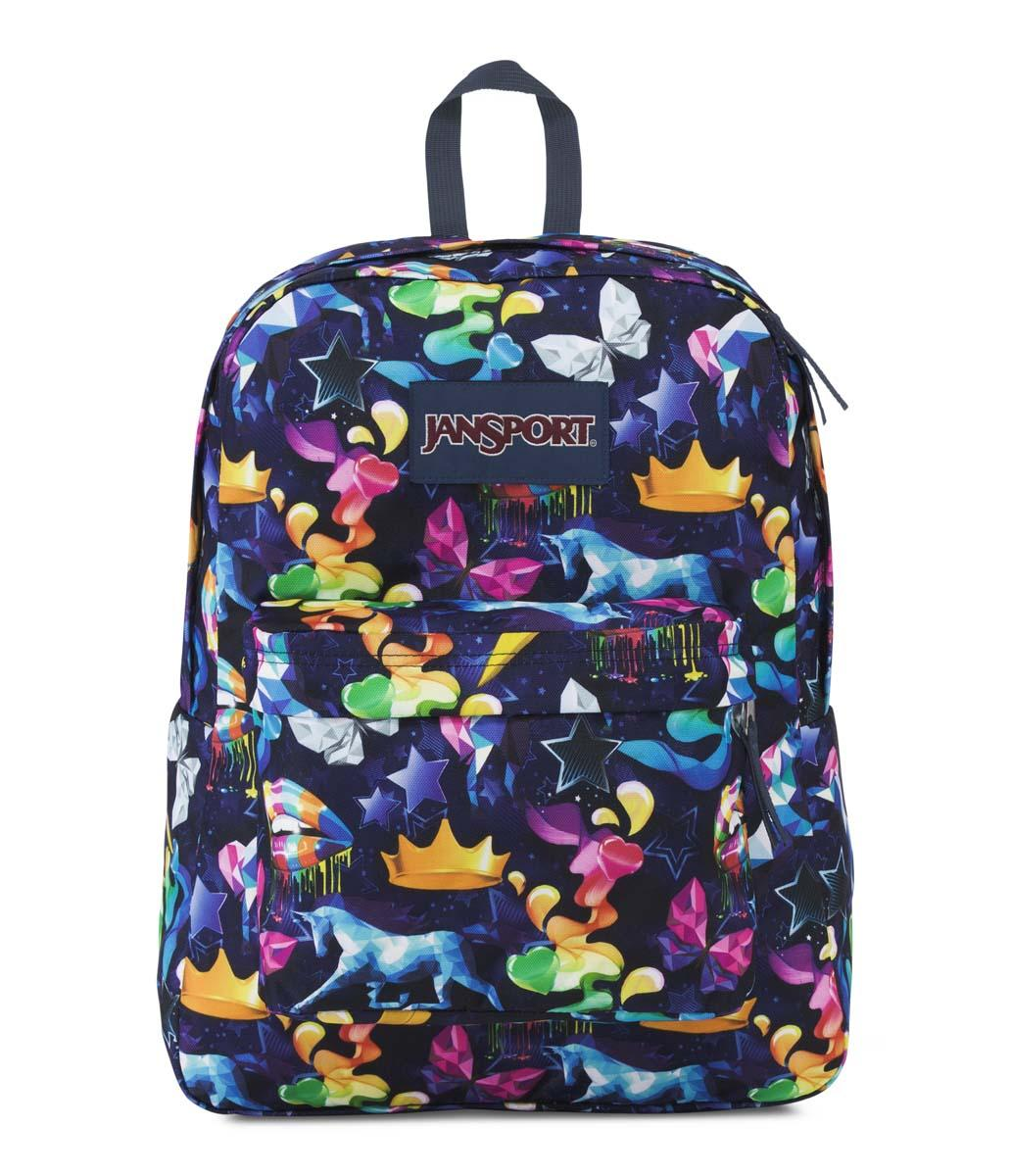 Tas Ransel JanSport Superbreak Rainbow Mania