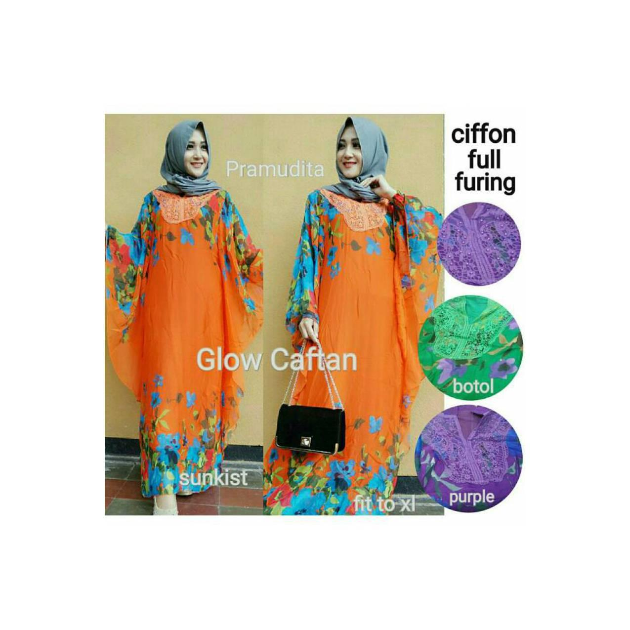 SUPPLIER HIJAB : GLOW KAFTAN BY PRAMUDITA