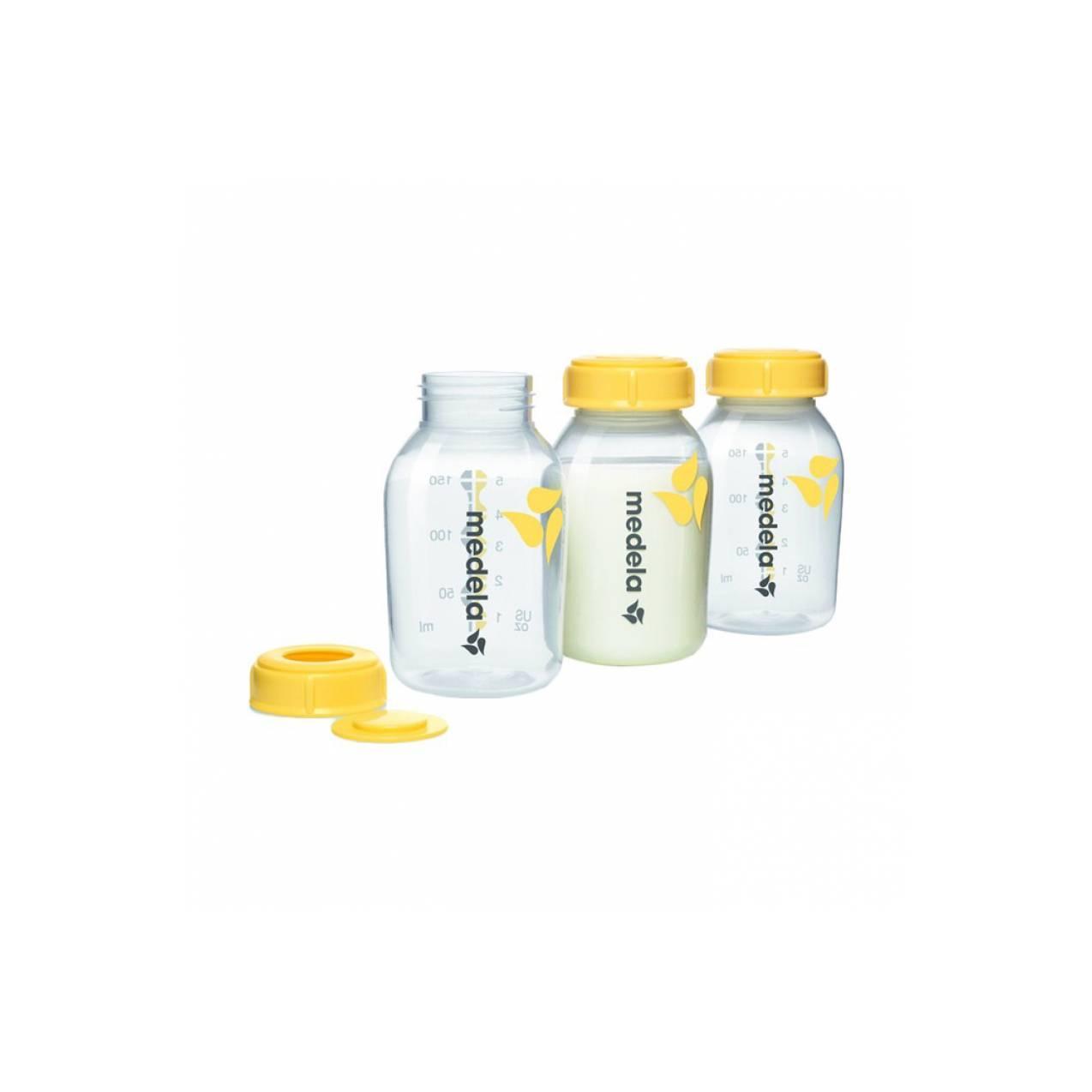 Medela Breastmilk Bottle 3 x 150ml / Medela Botol Asi 150 ml
