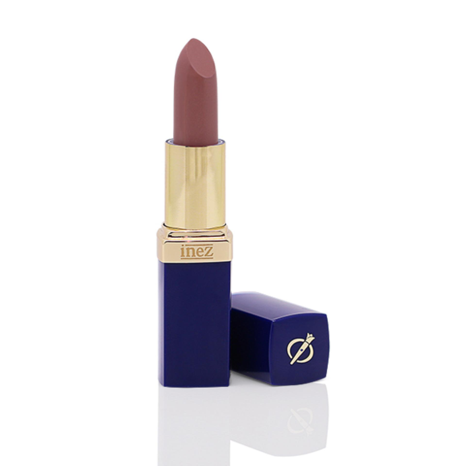 Inez Colour Contour Plus Lipstick - Terracotta