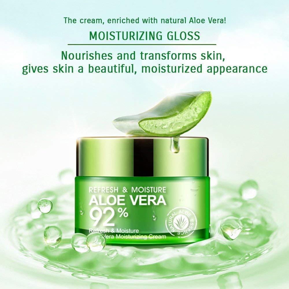 Buy Sell Cheapest Promo Bioaqua Cream Best Quality Product Deals Aloe Vera Shooting Gel Original Sale 92 Serum Wajah Essence Soothing Krim 100 50gr Refresh Moisturizing