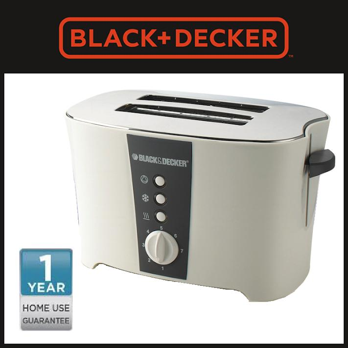 Black + Decker Toaster Pemanggang Roti 2 Slice (et122-B1) By Black & Decker Official Store