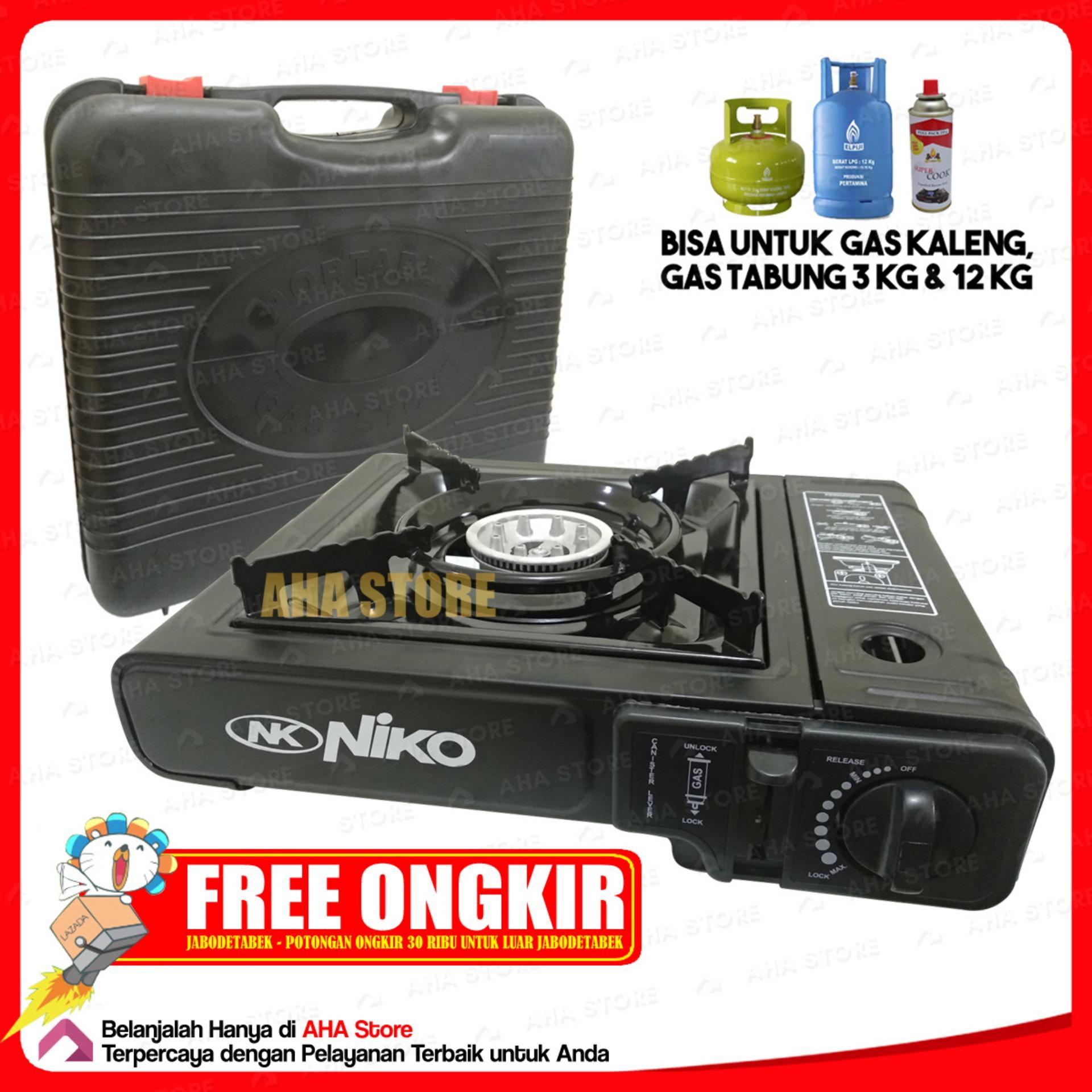 NIKO Kompor Gas Portable 2 in 1 NK-268