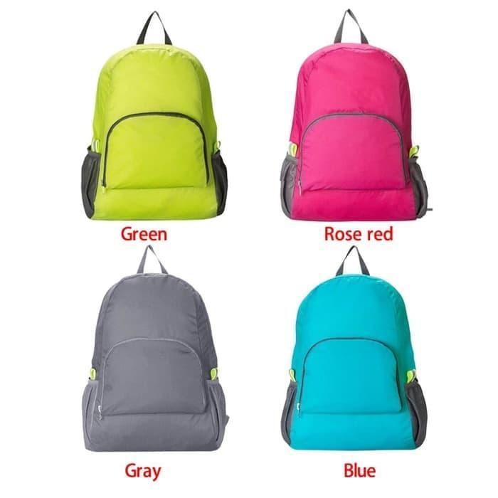 PALING LARIS  Foldable Backpack / Travel / Tas Punggung Lipat / Ransel Traveling New