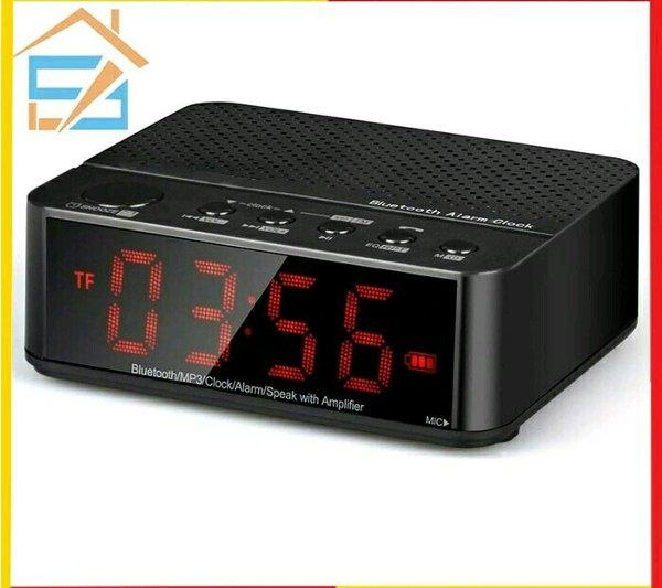 Desktop Bluetooth Speaker Alarm Clock - Speaker Bluetooth Jam Desktop By Twinkleshop.