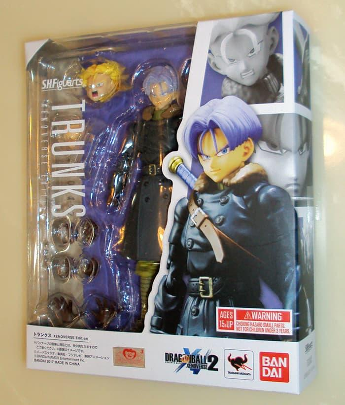 Hemat 10%!! Shf Trunks Xenoverse Ed - ready stock