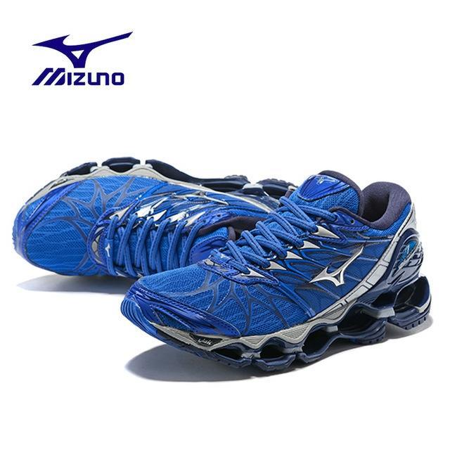 Original Mizuno Prophecy 7 Blue - Sepatu Mizuno Original Sepatu Voli Mizuno Pria