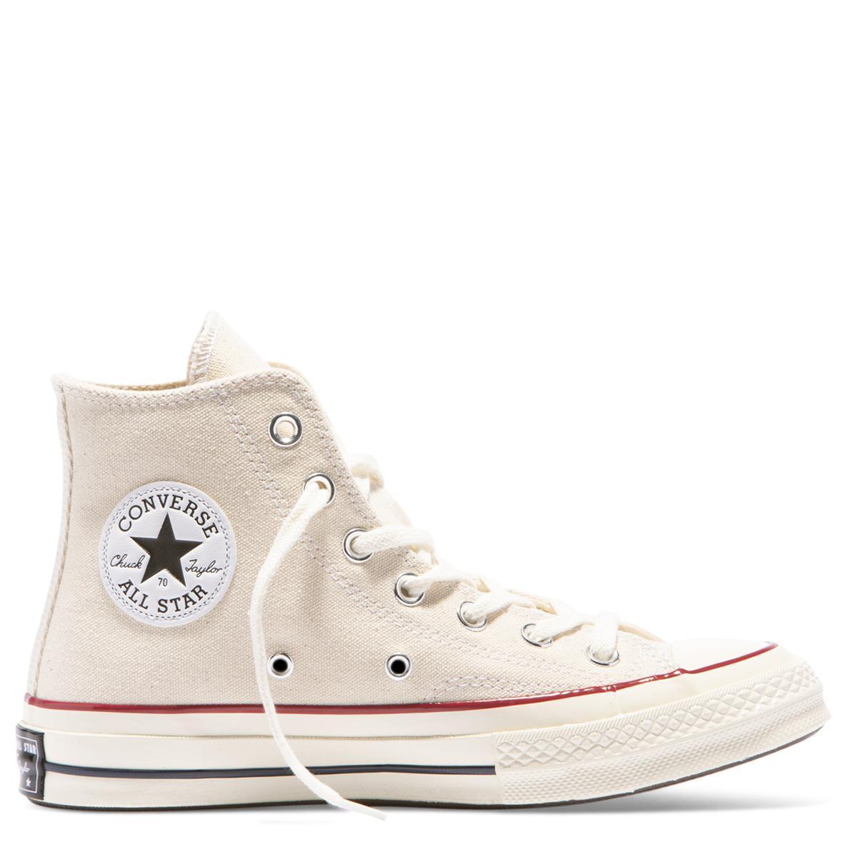 Converse Chuck Taylor All Star 70 High Top Sepatu Sneakers Pria Cream Wanita Vr 276 Kets Dan Casual Navy