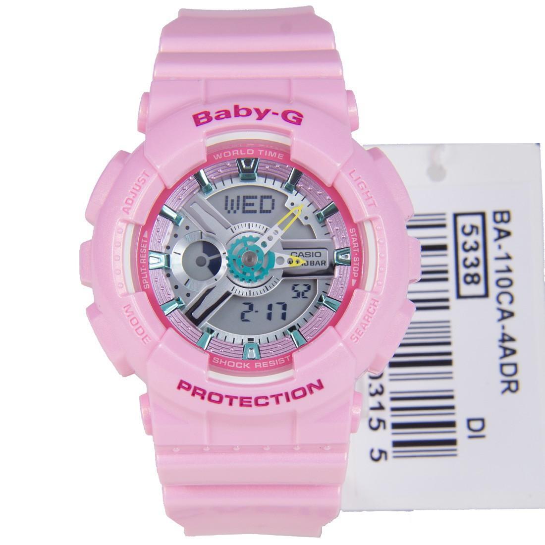 Jual Jam Tangan Casio Baby G Terbaru Ba 120 1b Hitam 110ca 4a Wanita Pink
