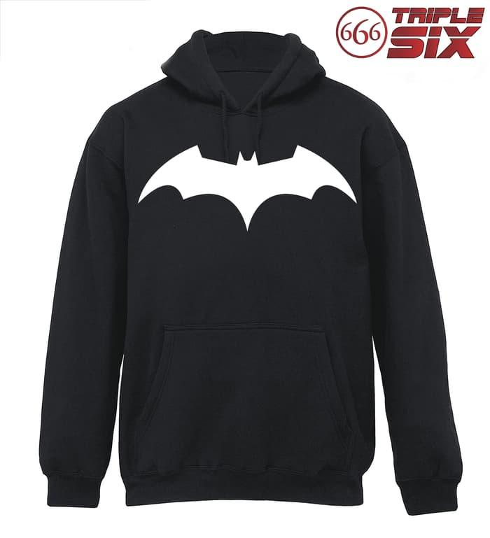 Sedang Diskon!! JAKET HOODIE - BATMAN : THE DARK KNIGHT - BLACK - ready stock