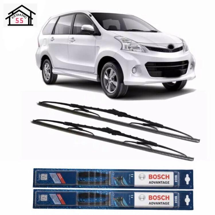 Wiper Mobil Sepasang (2pcs) Bosch Advantage Toyota Avanza Ukuran 21 inci dan 14 inci