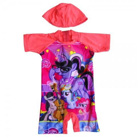 Baju Renang Bayi Karakter Little Pony Cantik dan Lucu TERBARU- K064