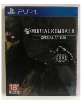 PROMO   PS4 Mortal Kombat special edt  stell case english(bekas masih mulus)