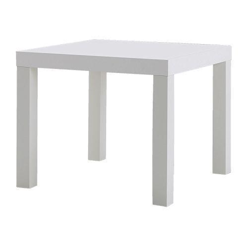 Jual 1.IKEA LACK MEJA SAMPING MINIMALIS- MEJA TAMU- 55 X 55 CM PUTIH R