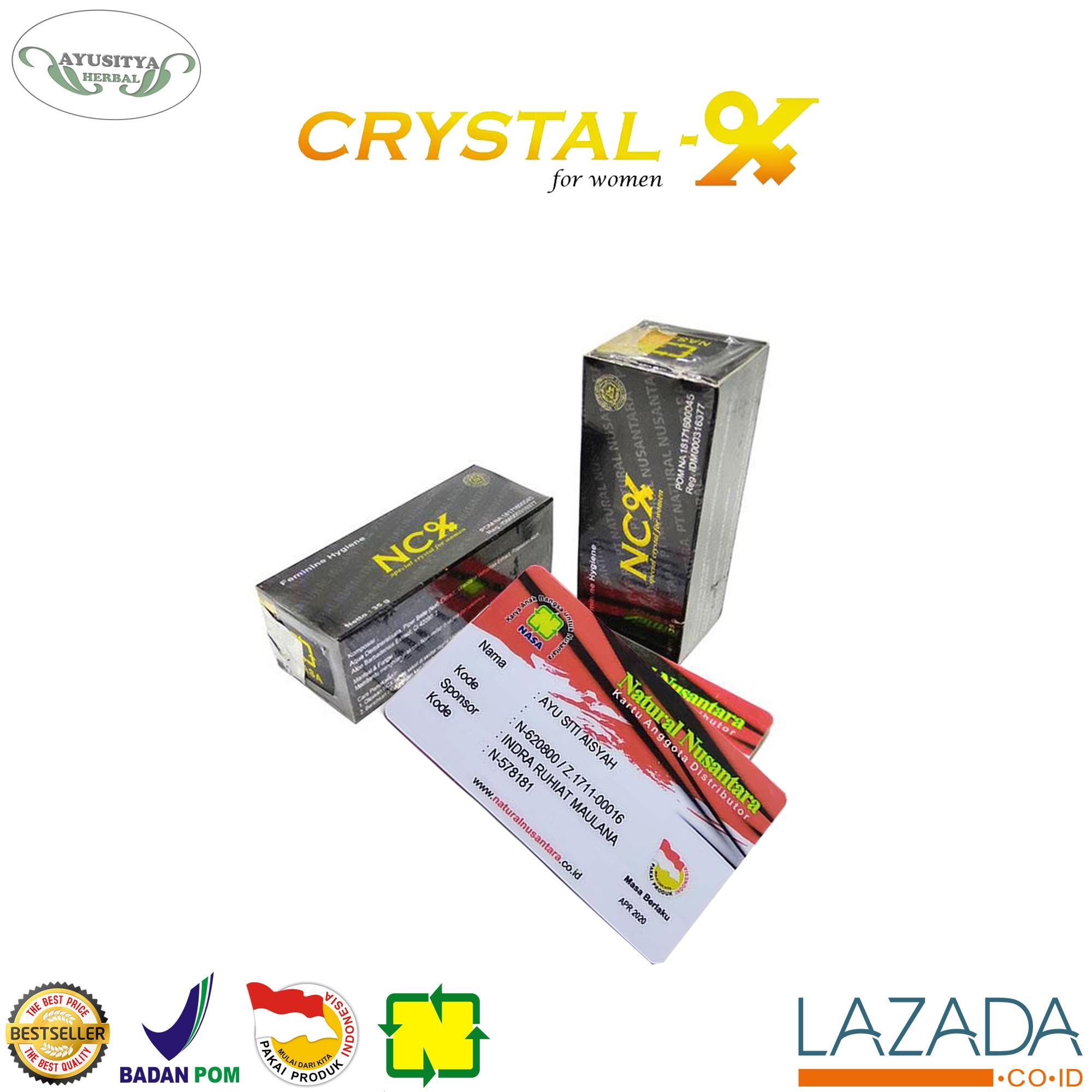 Buy Sell Cheapest Crystal X Original Best Quality Product Deals Crytal Cristal New Kristal 100 Agen Nasa Obat Herbal Keputihan