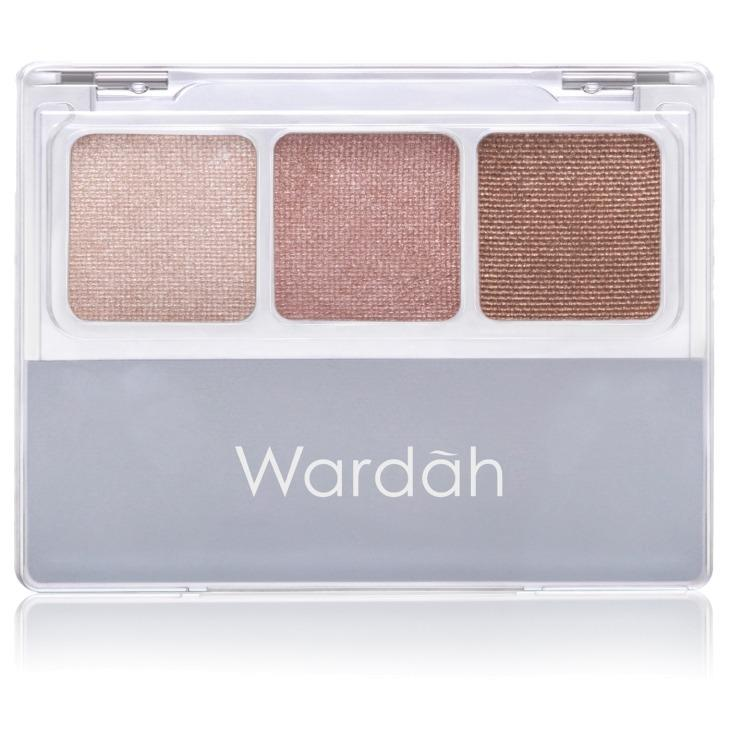 Wardah Nude Colours Eyeshadow Classic - Waterproof Eye Shadow