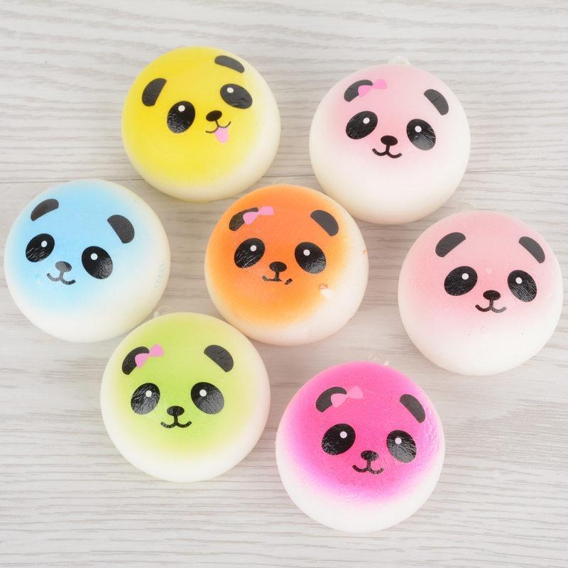 Rp 17.000. Squishy Soft Panda/Bread/Cake/Buns ...