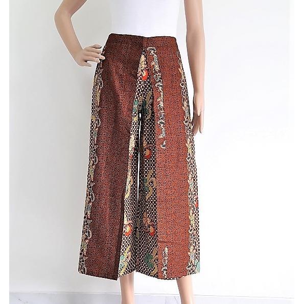 Pitakita Celana Batik Kulot Panjang Lolita L03