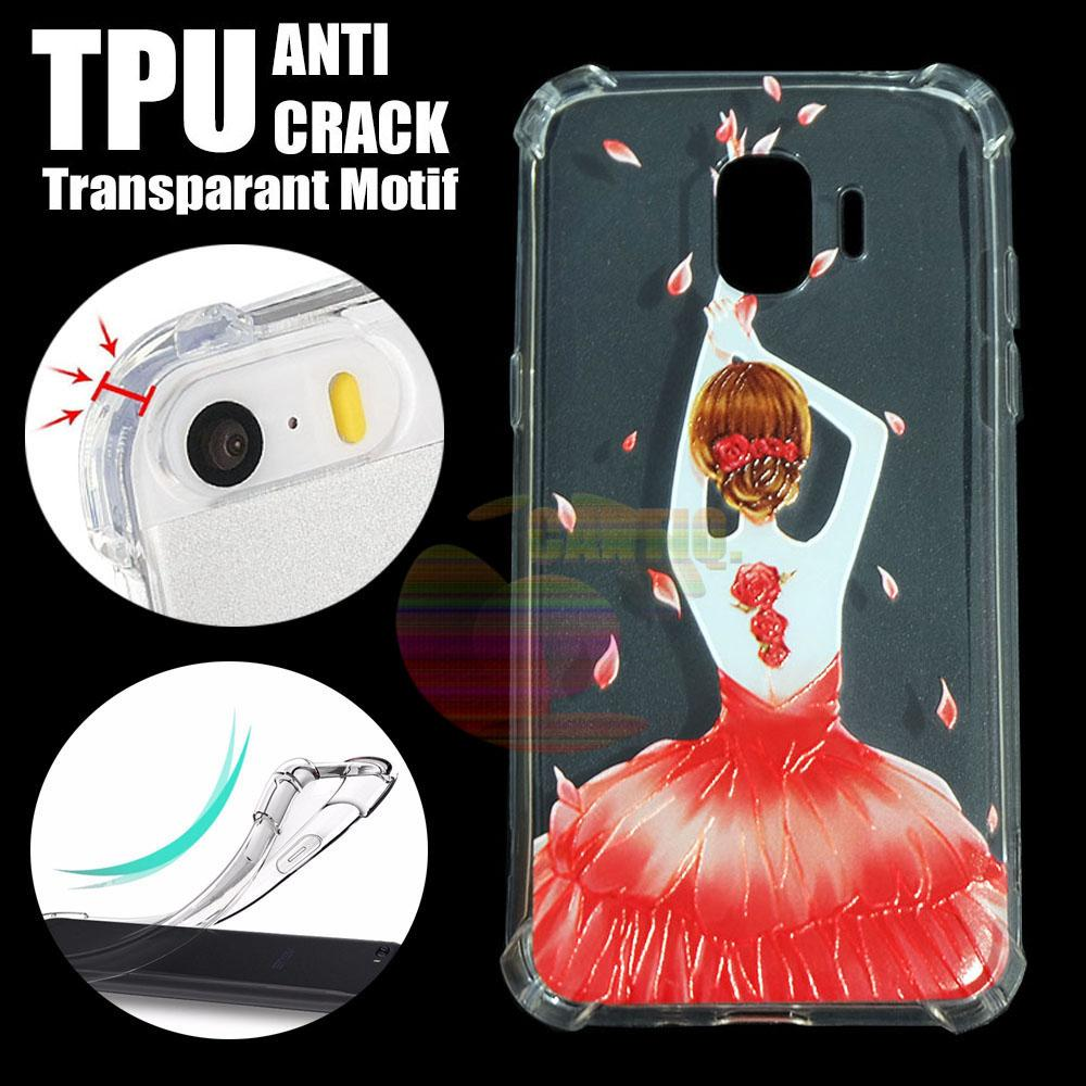 Icantiq Case Anti Crack 3D Samsung Galaxy J2 Pro 2018 Case Luxury Animasi Beautiful Girls With Wedding Dress Red Softcase Anti Jamur Air Case 0.3mm / Case ...