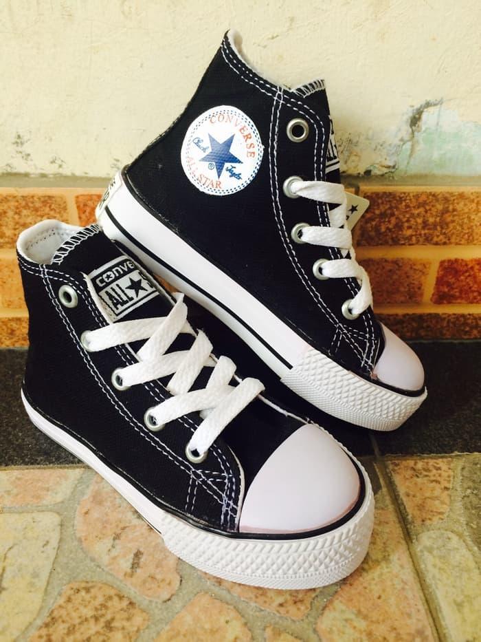 DISKON Sepatu Converse Kids model tinggi TERMURAH