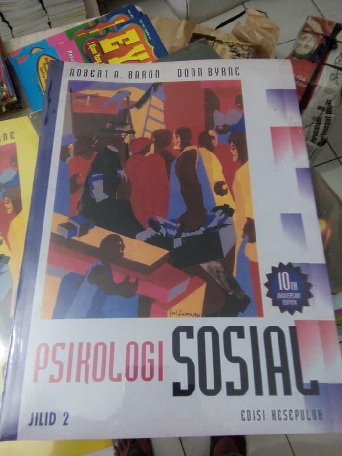 Best Seller!! Psikologi Sosial Ed. 10 Buku 2 - Robert Barron - ready