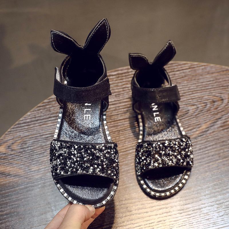 Anak Prempuan Sandal Summer 2018 Model Baru Versi Korea Musim Panas 1-3-6