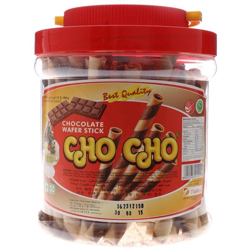 CHO CHO Wafer Stick Chocolate 500g