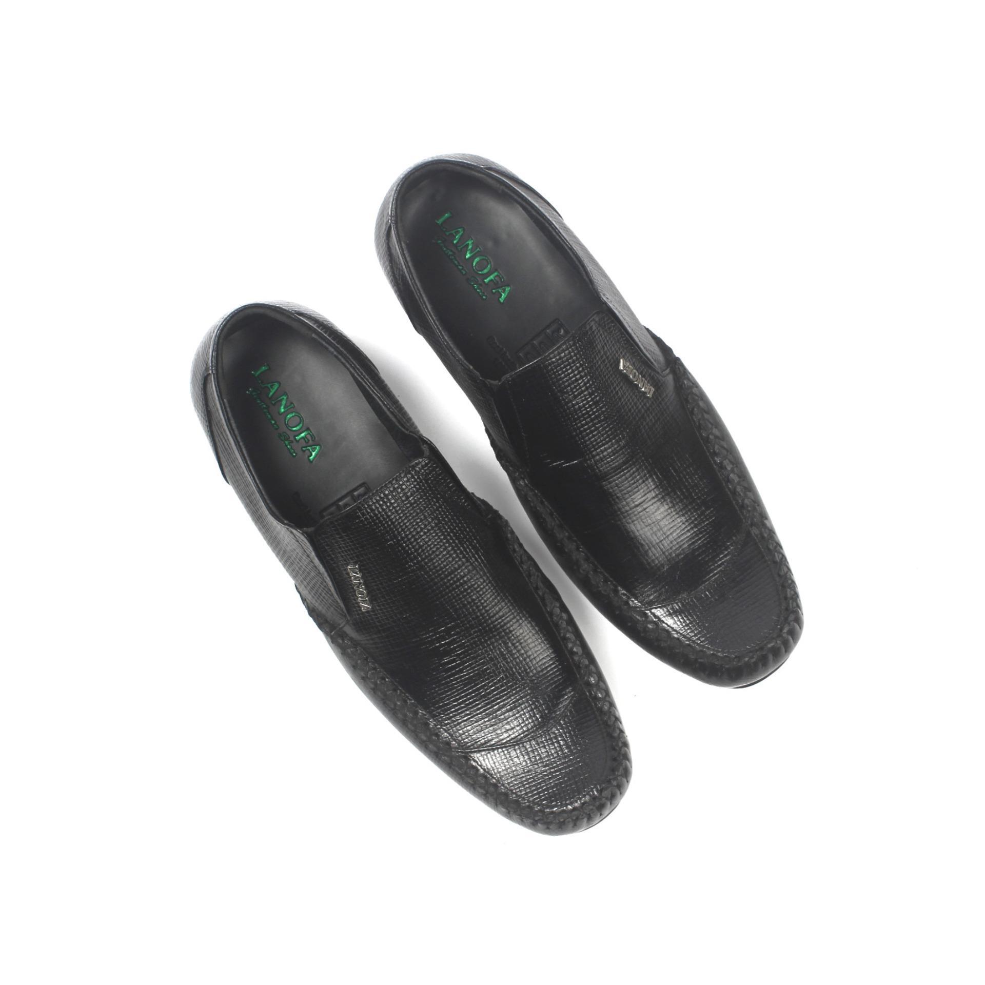 Harga Promo Sepatu Kulit Pantofel Pria LANOFA 1157 Di Jakarta