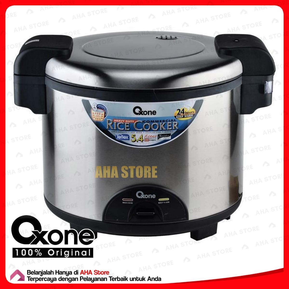 Oxone Ox 189 Jumbo Rice Cooker5 Daftar Harga Terkini Terlengkap Sharp Cooker Ksr18mspk Penanak Nasi 54 Liter