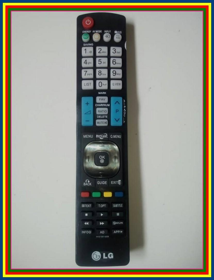 Remot Remote TV LCD LED LG AKB72914208 KW
