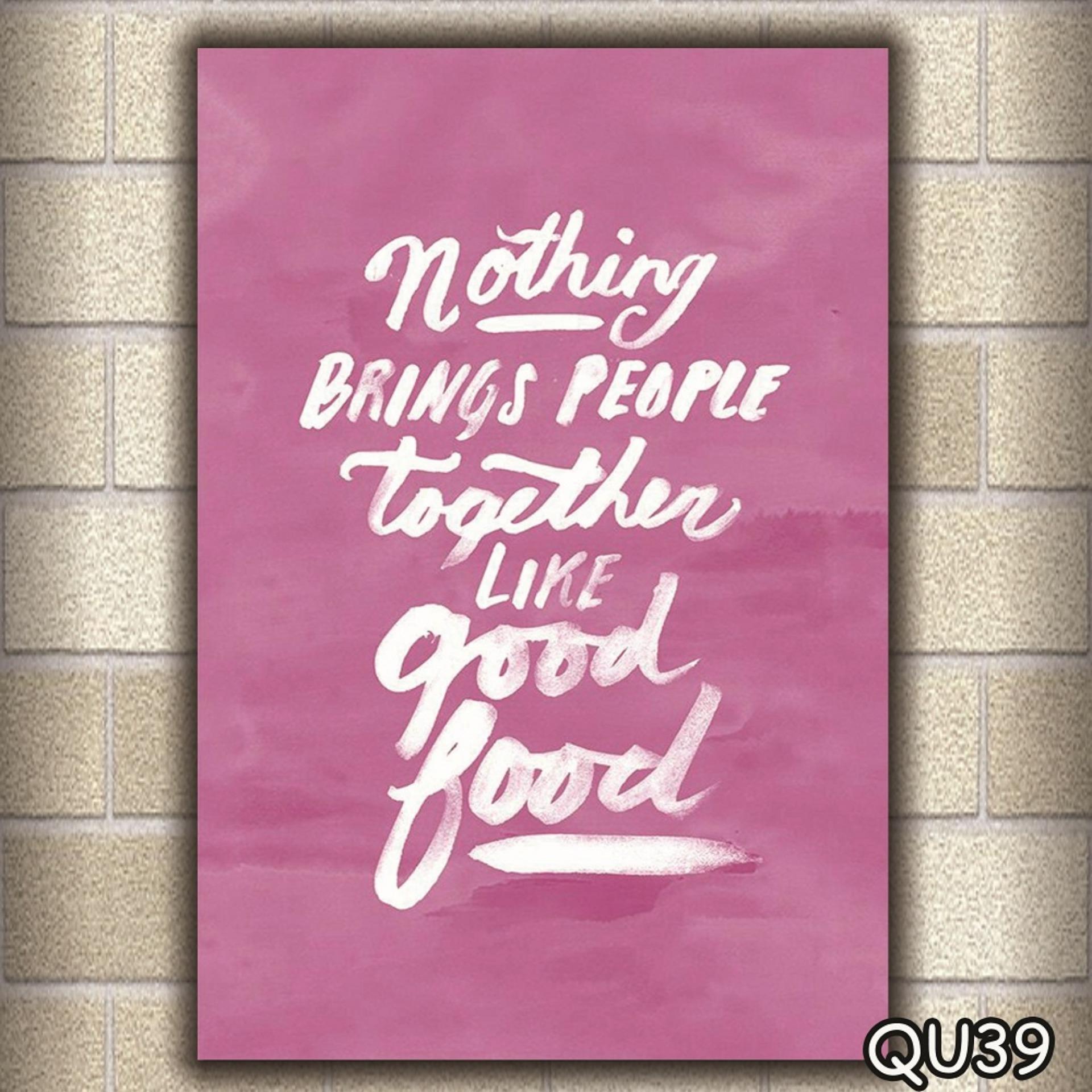 Vasty Hiasan Dinding Kayu Wall Decor Poster Super Quotes VSQ-39