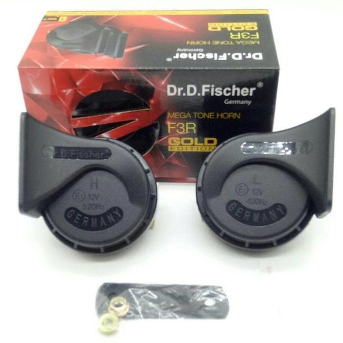 ... Fischer Original Germany - Isi 2 Klakson - Dijamin Suara Mengglegar. IDR 85,500 IDR85500. View Detail. klakson keong DR. D. FISHCHER made in germany
