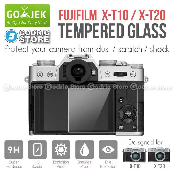 Ready! Fujifilm X-T10 U002F Xt10 U002F X-T20 U002F Xt20 Lcd Tempered Glass Anti Gores - ready stock