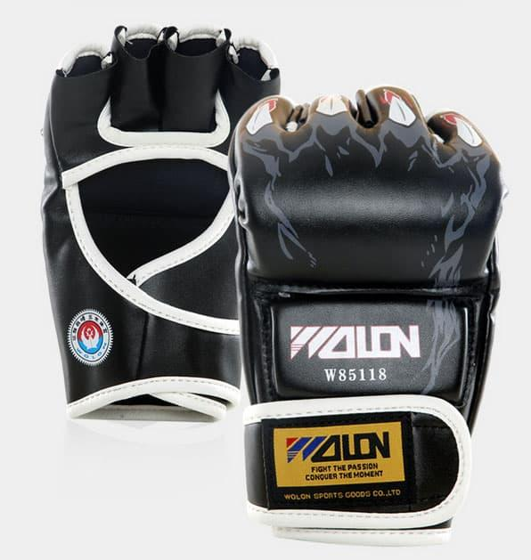 HOT PROMO!!! WOLON MMA GLOVES Muay Thai Boxing Body Combat Sarung Tinju Gloves - 65Vhv5