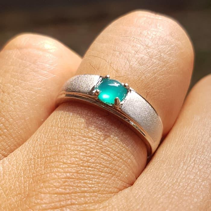 Promo Cincin Mewah Batu Bacan Doko Mewah Hadiah Pernikahan Tunangan By Natural Gemshop.