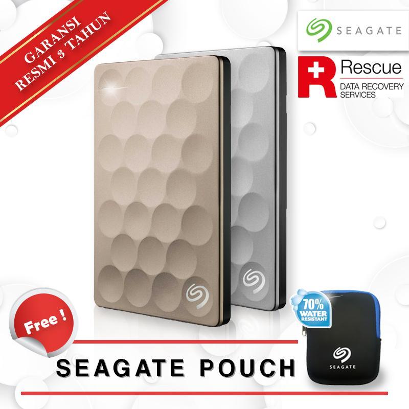 """Seagate Backup Plus Ultra Slim Portabel 1TB 2.5"""" USB 3.0 HDD/ Hardisk/ Harddisk"""